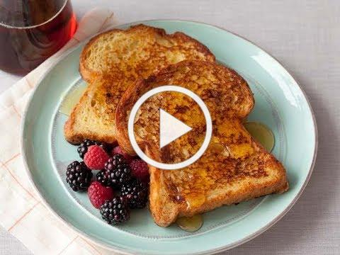 Alton Brown Makes French Toast | Food Network