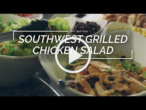 Southwest Grilled Chicken Salad | Easy Summer Salad Recipe