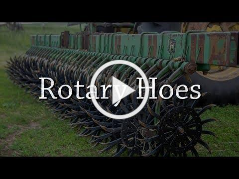 Rotary Hoes - Organic Weed Control