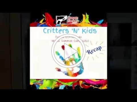 Critters n' Kids 2020 Recap