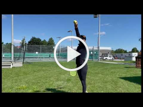 Consistent Ball Toss on the Serve