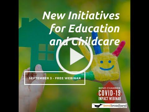 New Initiatives for Education and Childcare