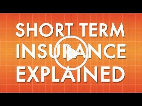 Short Term Insurance Explained