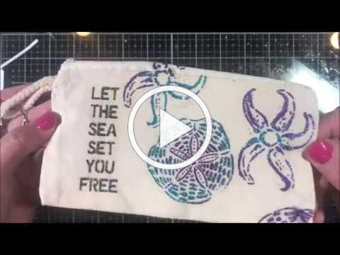 IZINK Diamonds Canvas Bag Technique Kit
