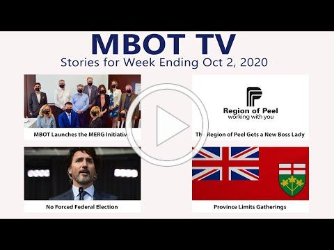October 2, 2020 - Weekly Recap | MBOT TV