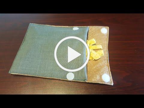 Reusable Sandwich Bag/ Snack Bag