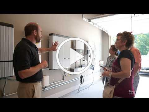 Solar + storage at Grant residence