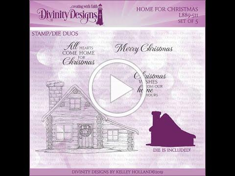 Home for Christmas - Copic Coloring with Dawn Lusk