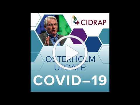 Ep 44 Osterholm Update COVID-19: Hurricane Warning