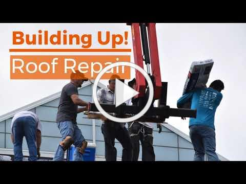 Thank you for supporting Building Up! Roof Repair, July 2019