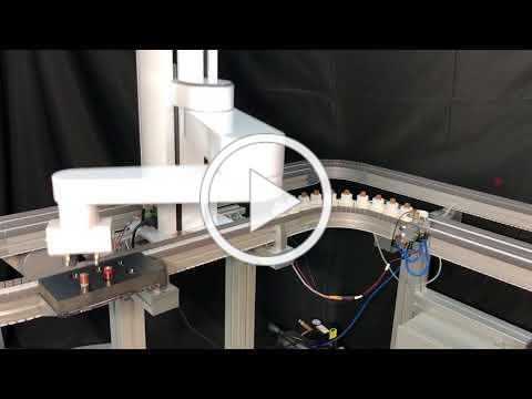 PreciseFlex SCARA and PrecisePlace Cartesian cobots handle batteries