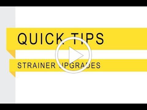 Banjo Quick Tip Strainer Upgrades
