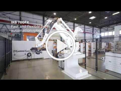 ABB Robotics New Press Automation Lab in Regional Application Center Barcelona