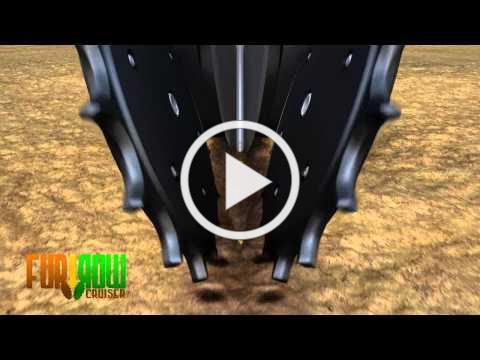 Furrow Cruiser-Spiked Closing Wheel