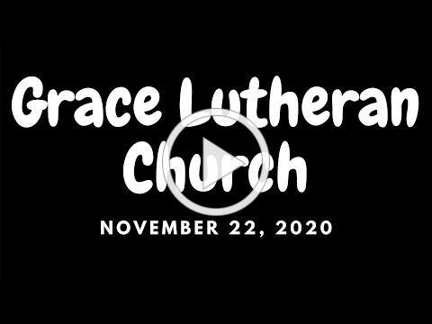 November 22, 2020 Worship Service