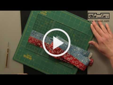 Bloc Loc Strip Set Ruler How To VIdeo