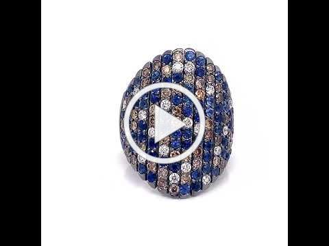 MDJ Advantage - Sapphire Diamond Ring - Crivelli - Dominic Mainella
