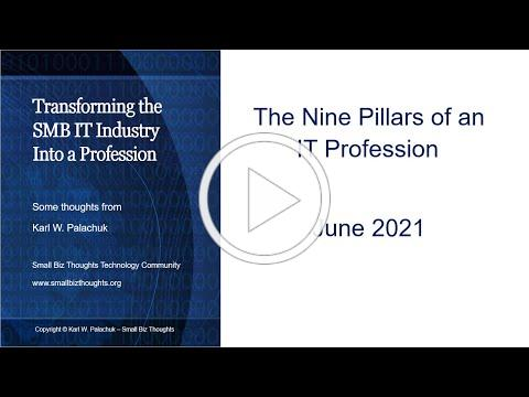 Transforming the SMB IT Industry into a Profession