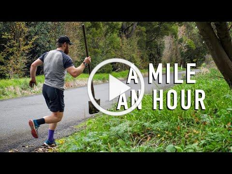 A Mile an Hour - Running a different kind of marathon