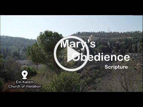 Mary's Obedience - Scripture