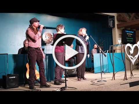 Rev Jackie with Blaze & Kelly 11 24 19