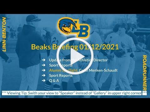 Beaks Briefing Jan 12, 2021