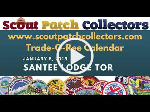 Santee Lodge 116 Boy Scout Trade-O-Ree January 5 2019
