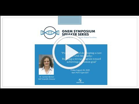 NDF Speaker Series with Dr. Carmen Bertoni