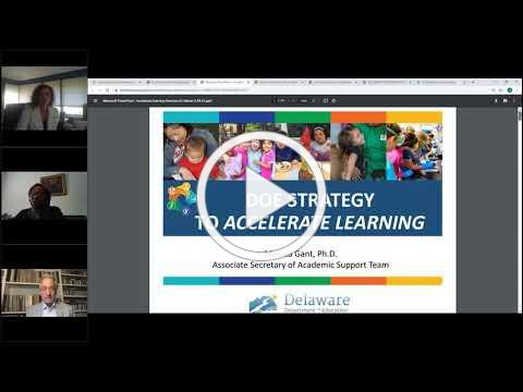 State Board of Education: Supporting Accelerated Learning for Delaware Students