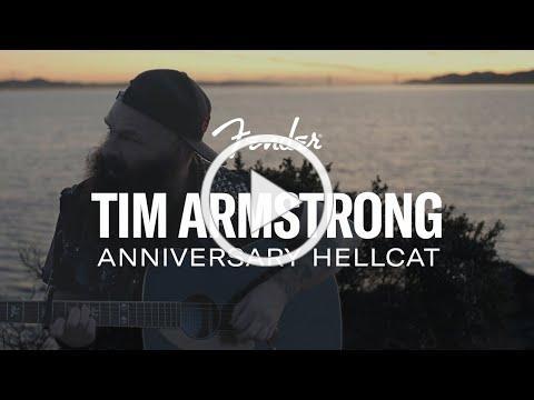 Tim Armstrong Anniversary Hellcat   Artist Signature Series   Fender