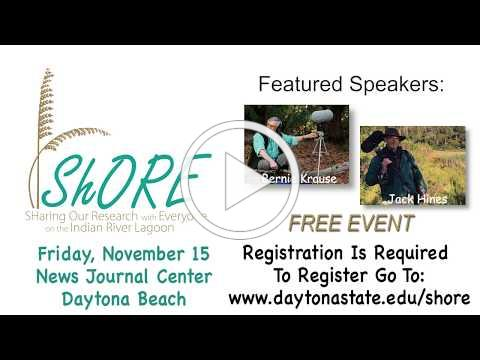 5th Annual ShORE Symposium, November 15, 2019