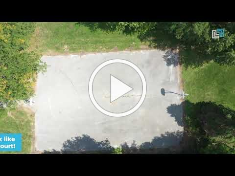 Project Slam Dunk before drone footage