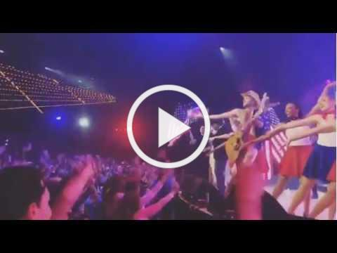 Footage of Hillsong New York featuring