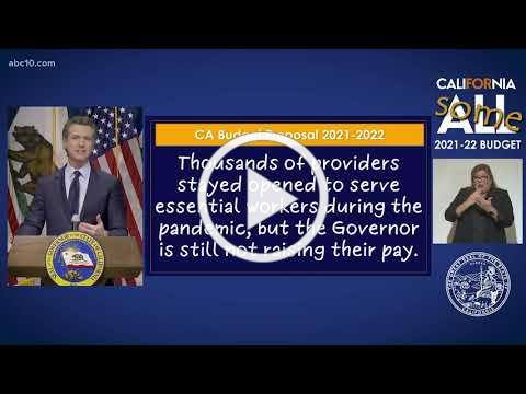 CA Budget Response: Child Care Providers are Left Out