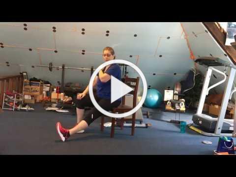 Chair Balance & Stretch with Ann!