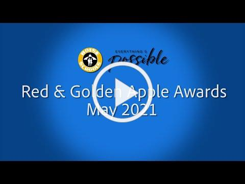 May 2021 Red & Golden Apple Awards