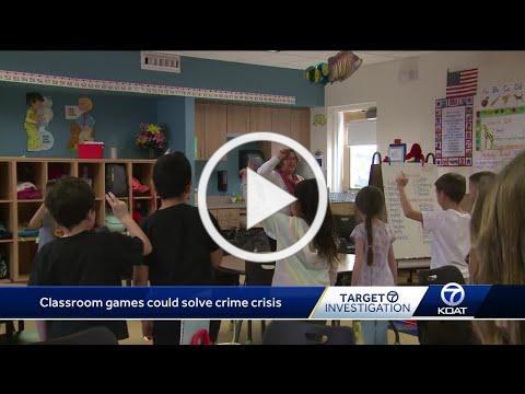 Grade school games could help Albuquerque's crime crisis