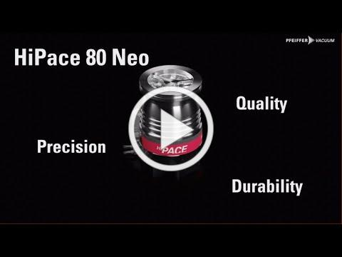 HiPace® 80 Neo - the brand new turbopump in 3D   by Pfeiffer Vacuum