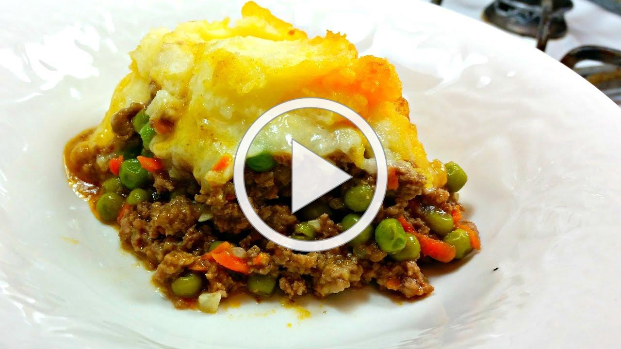 Shepherd's Pie Recipe | Cottage Pie Recipe | Beef and Mashed Potato Casserole