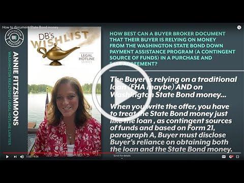 DB's Wishlist: How to Document State Bond Money
