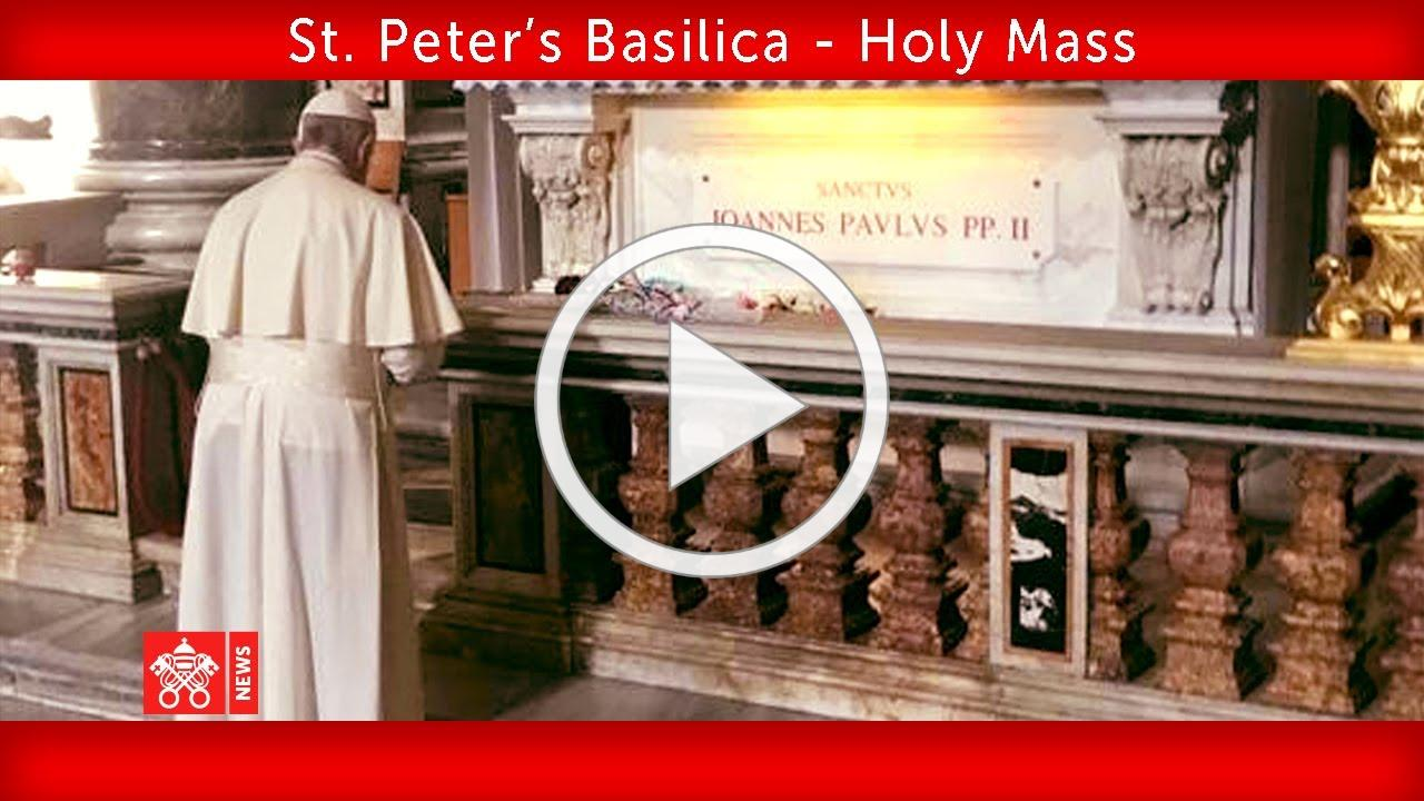May 18 2020, St. Peter's Basilica Pope Francis