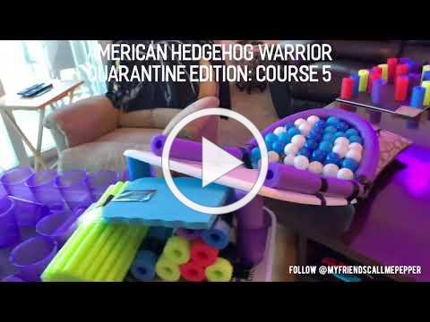American Hedgehog Warrior: Course 5