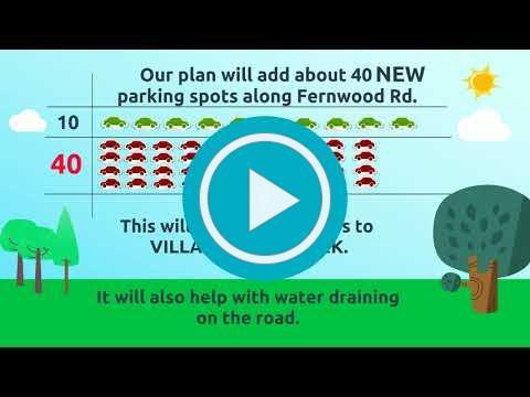 Proposed Fernwood Parking & Drainage Improvement Project