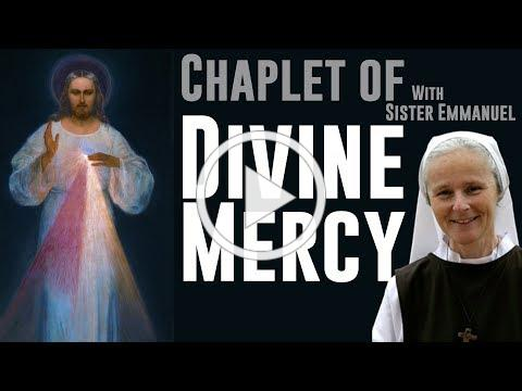 Chaplet of Divine mercy by sister Emmanuel in Medjugorje