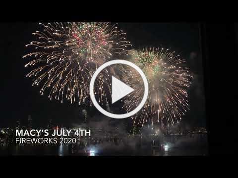 Macy's July 4th Fireworks 2020