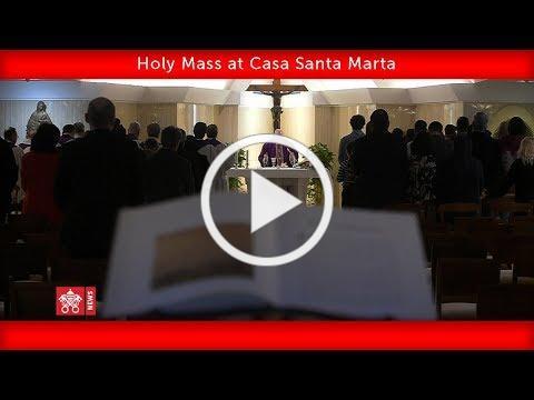 May 1 2020, Santa Marta Mass   Pope Francis