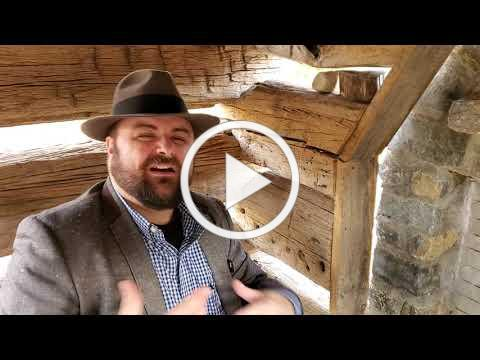 Curator's Chat: How to Build a Log Cabin