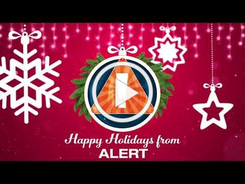 Holiday Greetings from ALERT!