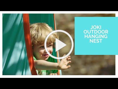 LA SIESTA Joki Outdoor - Hanging nest made with weatherproof material