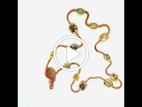 MDJ Advantage - Natural Fancy Diamond Necklace - GIA Certified - Dominic Mainella